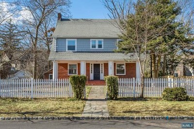 Essex County Single Family Home For Sale: 144 Central Avenue