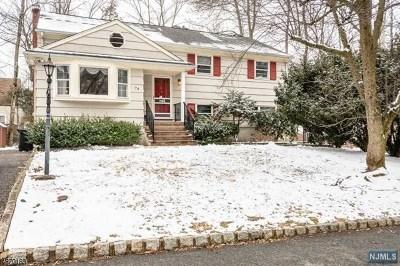 Essex County Single Family Home For Sale: 74 Glen Avenue