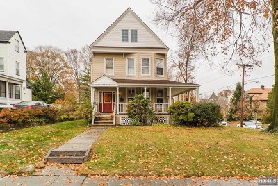 Rutherford Single Family Home For Sale: 30 West Passaic Avenue
