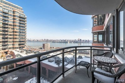 Cliffside Park Condo/Townhouse For Sale: 100 Winston Drive #8b South