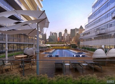Hudson County Condo/Townhouse For Sale: 800 Ave At Port Imperial #609