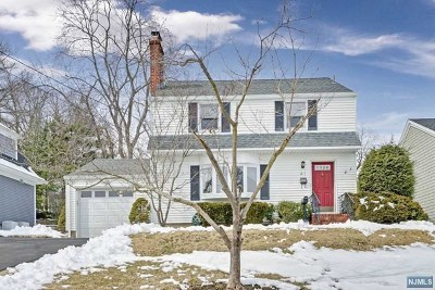 Glen Rock Single Family Home For Sale: 41 Glen Boulevard