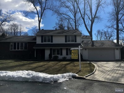 Cresskill Single Family Home For Sale: 6 Wright Place