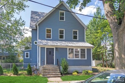 Rutherford Single Family Home For Sale: 72 Wood Street