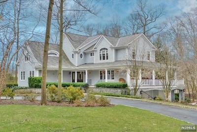 Saddle River Single Family Home For Sale: 13 Glenwood Drive
