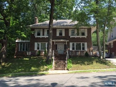 Paterson Single Family Home For Sale: 93-97 East 37th Street