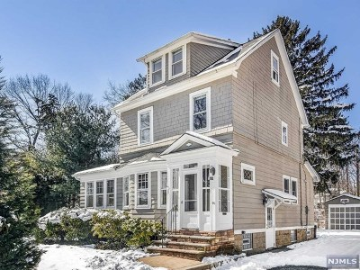 Essex County Single Family Home For Sale: 96 Sherman Avenue