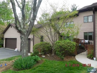 Mahwah Condo/Townhouse For Sale: 90 Fisher Road