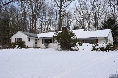 Mahwah Single Family Home For Sale: 387 Campgaw Road