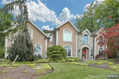 Woodcliff Lake Single Family Home For Sale: 36 Birchwood Drive