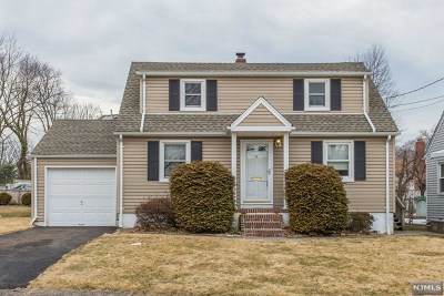 Clifton Single Family Home For Sale: 78 Englewood Road