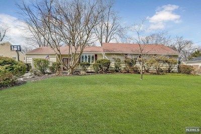 Paramus Single Family Home For Sale: 753 Reeder Road