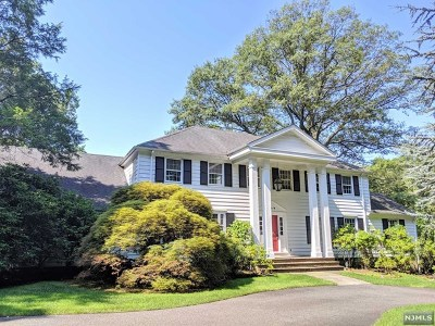 Tenafly Single Family Home For Sale: 80 Mayflower Drive