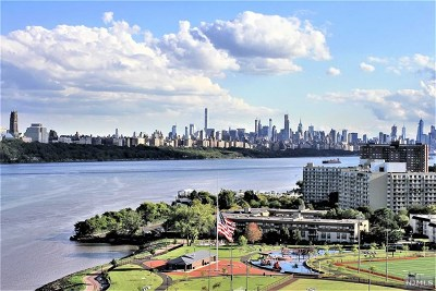 Edgewater Condo/Townhouse For Sale: 1203 River Road #17h