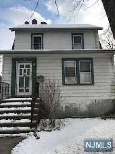 Englewood Single Family Home For Sale: 196 Warren Street
