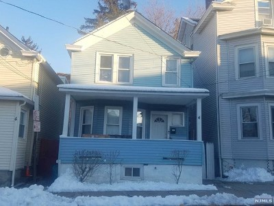 Paterson Single Family Home For Sale: 4 Doremus Street