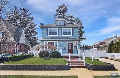 Paterson Single Family Home For Sale: 59-61 Lenox Avenue