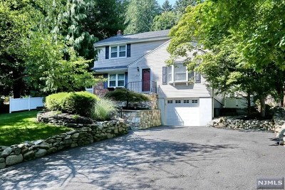 Montvale Single Family Home For Sale: 54 Woodland Road