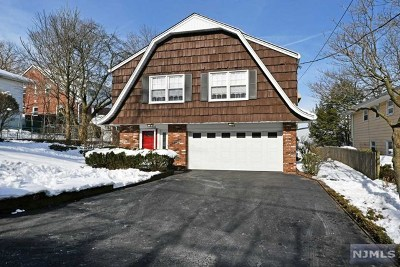 Leonia Single Family Home For Sale: 144 Irving Street