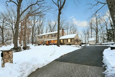 Franklin Lakes Single Family Home For Sale: 895 Hilltop Terrace