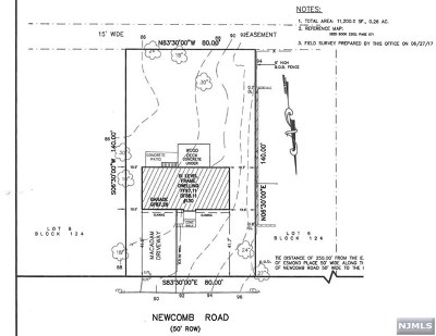 Tenafly Residential Lots & Land For Sale: 130 Newcomb Road