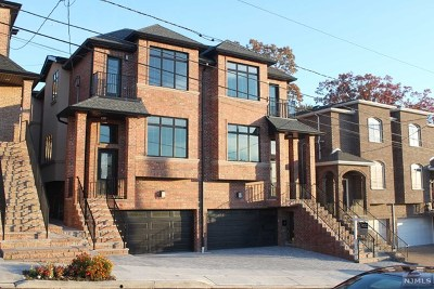 Bergen County Condo/Townhouse For Sale: 330 8th Street #A