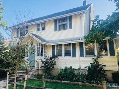 Ridgefield Park Single Family Home For Sale: 175 Mt Vernon Street