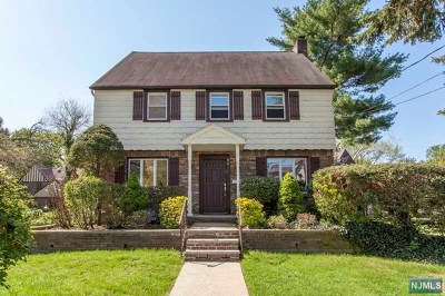 Bergen County Single Family Home For Sale: 96 Sussex Road