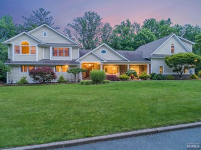 Upper Saddle River Single Family Home For Sale: 20 Applewood Drive