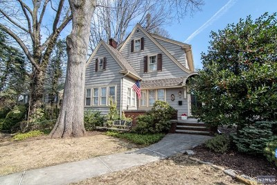 Clifton Single Family Home For Sale: 60 Athenia Avenue