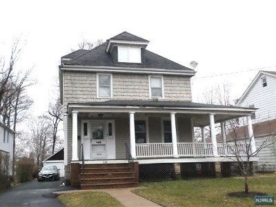 Teaneck Single Family Home For Sale: 115 Bogert Street