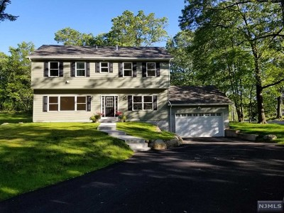 Mahwah Single Family Home For Sale: 185 Geiger Road