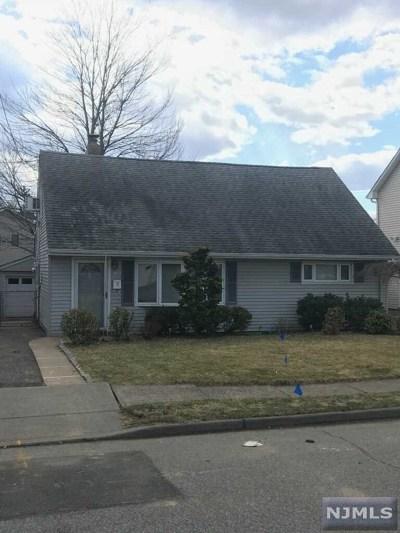 Totowa Single Family Home For Sale: 163 Stewart Terrace