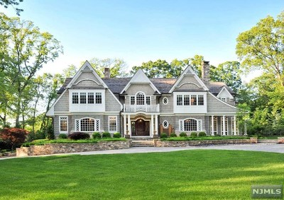 Saddle River Single Family Home For Sale: 27 Old Woods Road