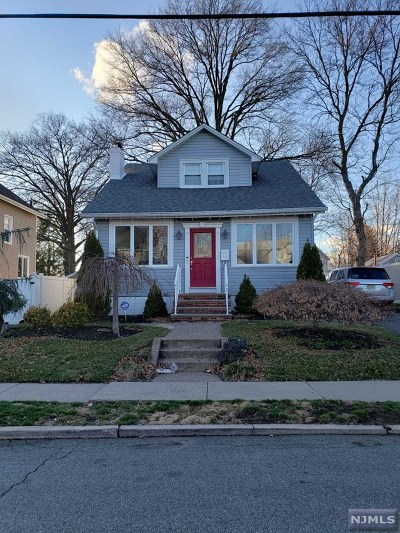 Hackensack Single Family Home For Sale: 255 Herman Street