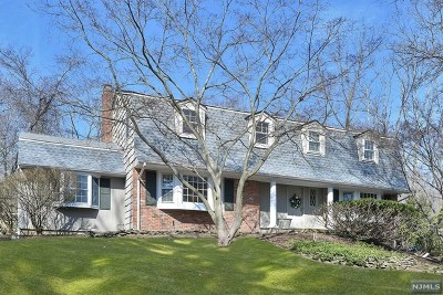 Upper Saddle River Single Family Home For Sale: 19 Northern Drive