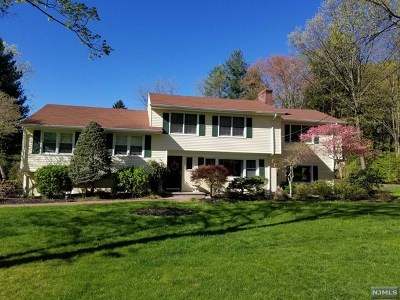 Woodcliff Lake Single Family Home For Sale: 3 Colonial Court