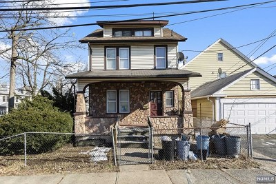 Passaic Single Family Home For Sale: 115 Albion Street