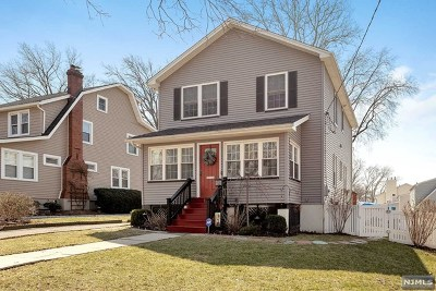 Rutherford Single Family Home For Sale: 199 Woodward Avenue