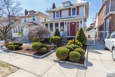 North Bergen Single Family Home For Sale: 909 80th Street