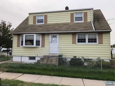 North Arlington NJ Single Family Home For Sale: $275,000