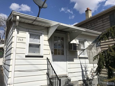 Passaic County Single Family Home For Sale: 348 Central Avenue