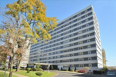 Hackensack Condo/Townhouse For Sale: 280 Prospect Avenue #8j