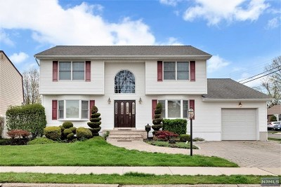 Saddle Brook Single Family Home For Sale: 189 Graham Terrace