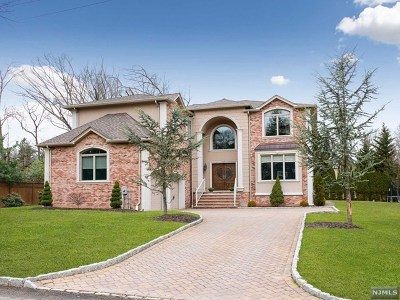 Woodcliff Lake Single Family Home For Sale: 20 Bearbrook Drive