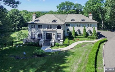 Saddle River NJ Single Family Home For Sale: $2,498,000