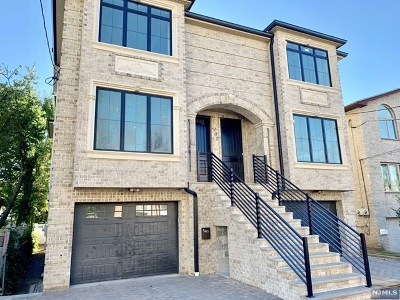 Fort Lee Condo/Townhouse For Sale: 408 Center Street
