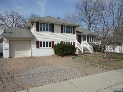 Saddle Brook Single Family Home For Sale: 157 Graham Terrace