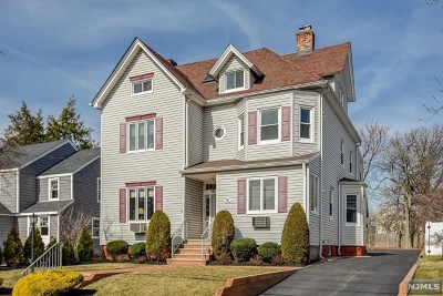 Rutherford Multi Family 2-4 For Sale: 80 West Newell Avenue