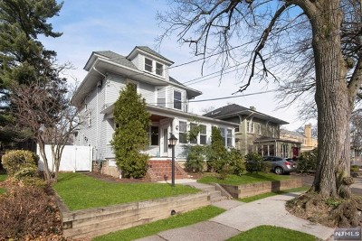 Rutherford Single Family Home For Sale: 73 East Van Ness Avenue